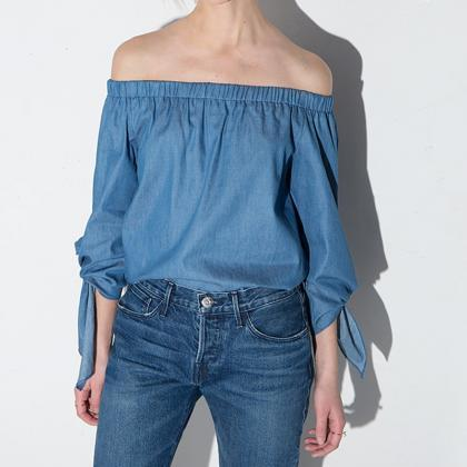 Womens Off Shoulder Sexy Slash Neck..